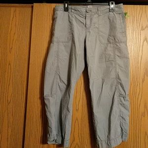 Old Navy gray capris size 12